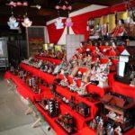 白壁の町並みで有名な広島の上下町で行われていた天領上下ひなまつりを訪問