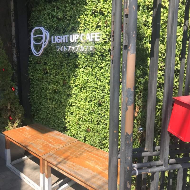 チェンマイの人気カフェ「Light Up Cafe」はタピオカミルティーが美味しい