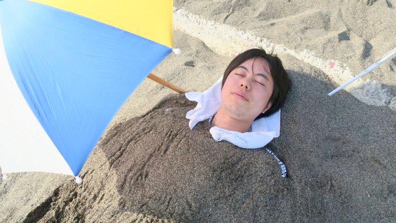 指宿「山川砂むし温泉・砂湯里」で砂風呂を体験、温泉卵もおすすめ
