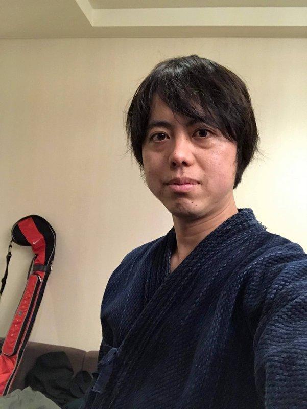 20数年ぶりに剣道着を着ました