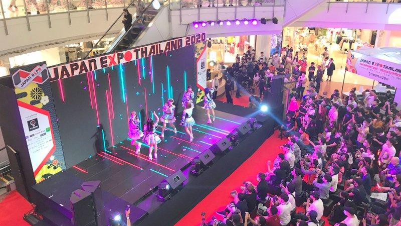 ジャパンエキスポタイランド2020のアイドルライブ